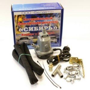 Электроподогреватель двигателя предпусковой